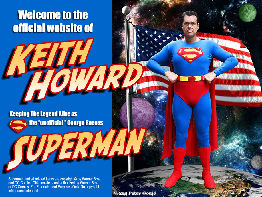 Welcome to KeithHowardSuperman.com!